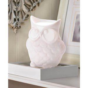 New Porcelain Friendly Owl Oil Warmer